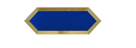 ECLIPSE BLUE GOLD BISEL