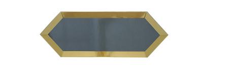 ECLIPSE DARK GREY GOLD BISEL