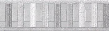 Бордюр supernatural kilim argento listello 9х30.5