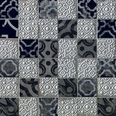 Dec.creta mosaico majolica grey fk63 30,5x30,5