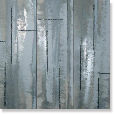 Декор EVOQUE ACCIAIO SILVER INS. MIX 3 RT 91,5x91,5