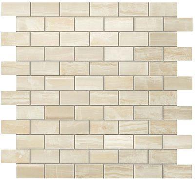 Ivory Chiffon Brick Mosaic СП625