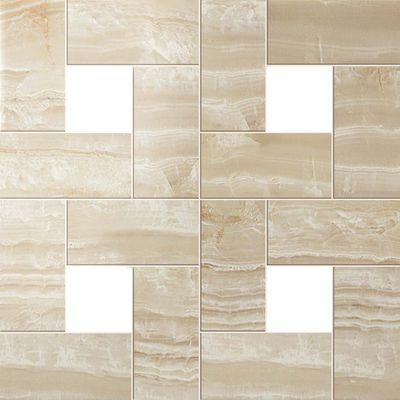 Ivory Chiffon Mosaic Lap СП385