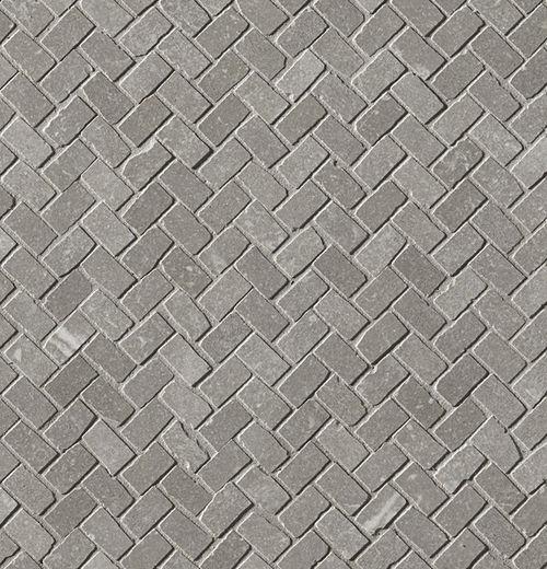Maku Grey Gres Mosaico Spina Matt 30X30