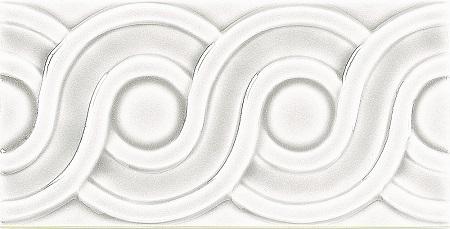 Modernista Relieve Clasico C-C Blanco