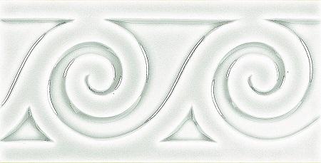Modernista Relieve Mar C-C Blanco