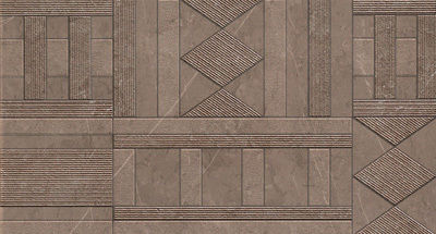 Облицовочная плитка supernatural kilim visone inserto 30.5х56