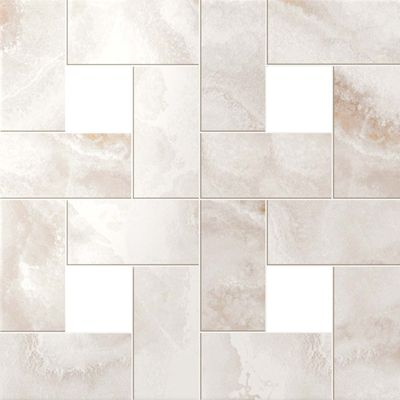 Pure White Mosaic Lap СП384