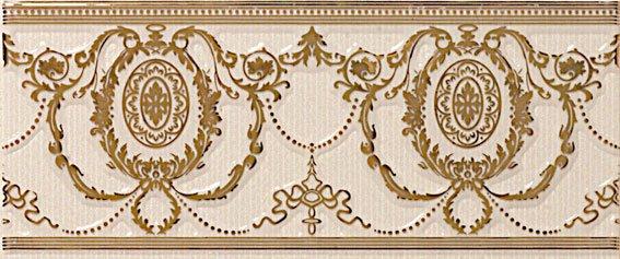 бордюр Agustine Gold Ivory