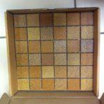 Мозаика из клинкера. Чип 48х48мм, сетка 30х30 см.