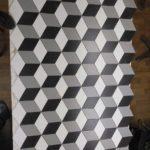 Мозаика из ромбов - элегантно смотрится в дизайне интерьера