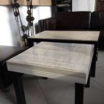Столик из Икеа Столик из Икеа, плитка Casalgrande Padana